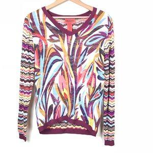 Missoni Sheer Knit Blouse Size XL